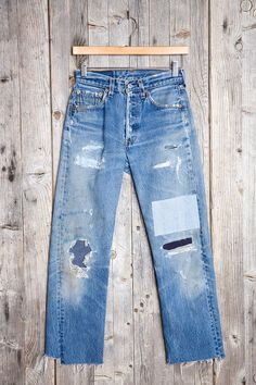 HYM Salvage X Urban Renewal Denim Repair Jean - Urban Outfitters