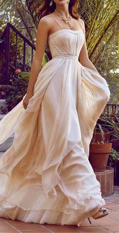 Cascada Gown