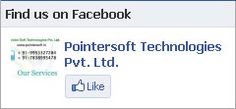 Pointer Soft Technologies Pvt. Ltd. Offers website designing, website development, Search Engine Optimization, Flash and Animation, online marketing, internet marketing, logo designing, Software Development, Website Promotion, Domain + Hosting services in India at very affordable rates maintaining the best quality and on-time completion policy.