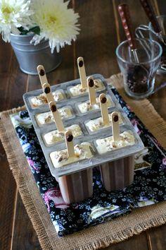 Helados de café vietnamita y muesli de chocolate - Vietnamese coffee ice cream and chocolate muesli