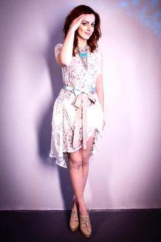 Annalisa Scarrone in Blugirl Spring-Summer 2013.