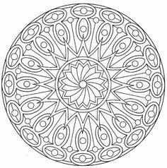 29 Free Printable Mandala Colouring Pages - Canada Arts Connect