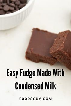 If you're looking for a quick and incredibly easy treat then look no further than this simple fudge recipe.It requires only a few basic ingredients that most people already have at home.