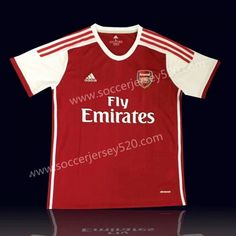 2e3d42e9e 2019-20 Arsenal Home Red Thailand Soccer Jersey AAA
