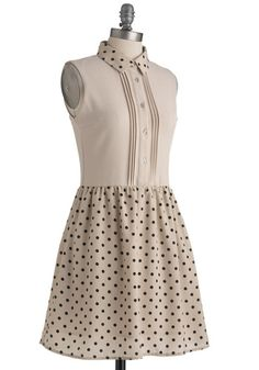 Cheerful Circle Dress, #ModCloth