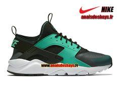 san francisco cb6bc 17d21 Boutique Officiel Nike Air Huarache Ultra Homme Gris foncé/Noir/Blanc/Menthe  819685-003
