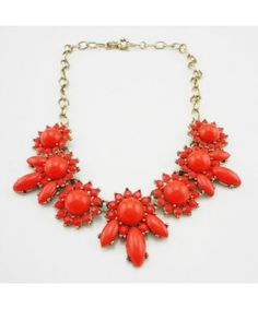 Elegant Crystal Sunflower Alloy Necklace Free Shipping
