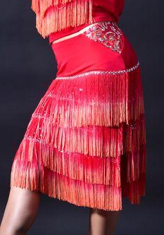 adorable fringe skirt