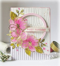 Birthday card. | quillandpunchworks.blogspot.in/2015/10/birt… | Flickr