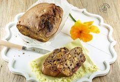 Banana bread al grano saraceno con albicocche e cioccolato