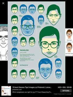 6935590b298 You can find your face shape and see if your glasses match the ones on a  poster. It s both fun and informative