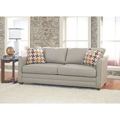 Beeson fabric queen sleeper chaise sofa 20 seat height for Beeson fabric queen sleeper chaise sofa