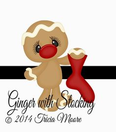 Ginger with Stocking