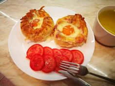 Tojással töltött zsemle French Toast, Breakfast, Food, Breakfast Cafe, Essen, Yemek, Meals