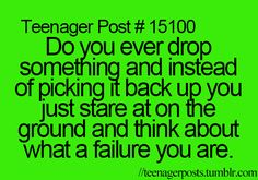 Only all the time.
