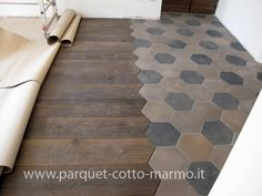 recovery cementine old - parquet inlay