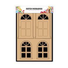 Dutch Doobadoo MDF Shape - Doors & Windows #655002