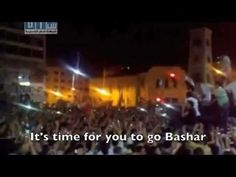 """Come on, Bashar, Leave"" ~Syrian Revolutionary Dabke with background of song here: http://www.nytimes.com/2011/07/22/world/middleeast/22poet.html?pagewanted=all&_r=0"