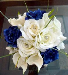 Bridal Bouquets and Bridal Party Flowers Wedding Reception Photos on WeddingWire