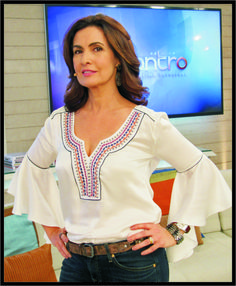"""ROBERTTO DIAS: MOLDE DA BATA ESTILO """"BOHO CHIC"""" DE FÁTIMA BERNARDES"""