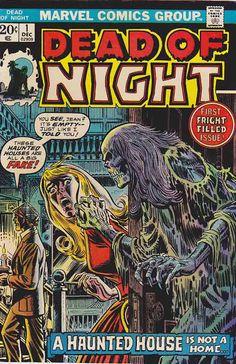 Dead of Night #1 1973. Len Wein Editor. John Romita cover artist