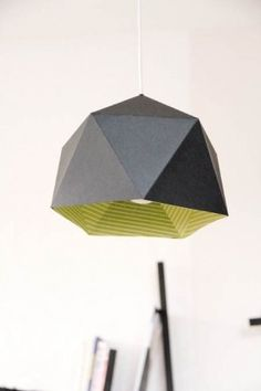 A different version of an Origami lantern, DIY