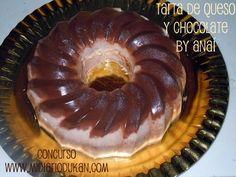 Mi Diario Dukan (Dukangirl): CONCURSO - Tarta de queso y chocolate by Anaí - * Respostería Dukan *