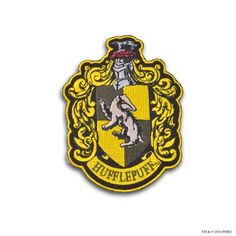 Hufflepuff Crest™ Embroidered Patch