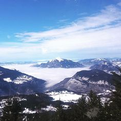 #Skiing #AboveTheClouds #FrenchAlps