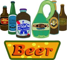 "Need a sip? Choose your favorite "" #Futurama #beer "" by Carlitopo (Carlos) | #SaveFuturama"