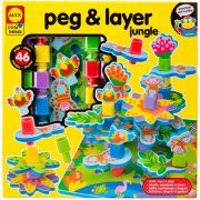 ALEX Toys Early Learning Peg and Layer Jungle