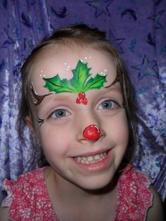 christmas face painting | Starting up christmas designs... - Page 3