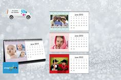 £2 instead of £10.99 (from Snapfish) for a desk calendar personalised with your photos - save 82%