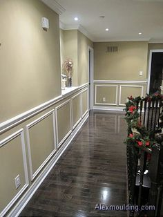 wall wainscot | Ideas Using Wainscot on Walls. Wainscoting is defined as a wall ...