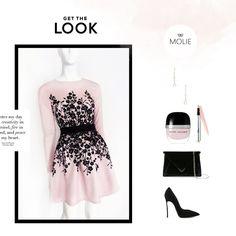 Sukienka z długim rękawem i nadrukiem kwiatowym w różowym kolorze. Get The Look, Formal Dresses, Creative, Image, Fashion, Dresses For Formal, Moda, Formal Gowns, Fashion Styles