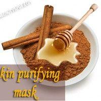 Skin Purifying Mask - Cinnamon Facial