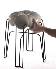 Paul Ketz's Marshmallow Stool - Design Milk