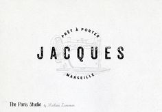 Vintage Sewing Machine Badge Logo Design by Madame Levasseur, The Paris Studio