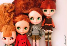 i want a red head blythe