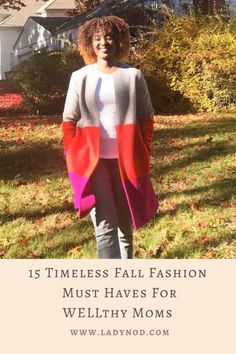 Fall reminds me to let go of the summer feels and dive into my closet for 15 timeless Fall fashion must haves for WELLthy Moms like myself. Classic Chic, Casual Chic Style, Mom Style Fall, Wife Mom Boss, Turtleneck T Shirt, African Fashion, Fashion Women, Effortless Chic, Basic Outfits