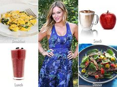 "Hot mama Hilary Duff gives her body a ""reboot"" with the delicious smoothie blends from fitness and nutrition guru Harley Pasternak.  http://www.people.com/people/package/gallery/0,,20332412_20765983,00.html"