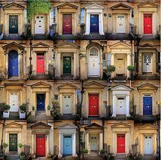 Georgian Doorways by Richard Denyer. Heart Home.