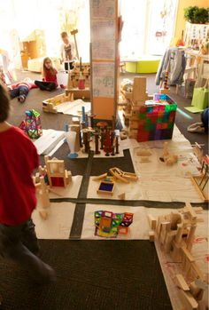 Highways — at Bambini Creativi an Early Learning Educational Project ≈≈