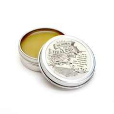 Healing Salve by MulleinandSparrow on Etsy, $15.00 olive oil, beeswax, lavender, calendula, comfrey, yarrow, red clover, sunflower oil