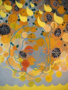 "Saatchi Online Artist Tania Ortega; Painting, ""Absorbed"" #art"