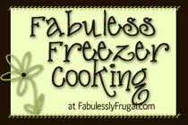 Freezer cooking- recipes and tips