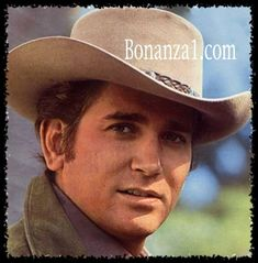 "Michael Landon: ""Little Joe"" on Bonanza. I used to watch it at my grandparent's cause my dad didn't like the show. The first time I saw him I was smitten. My first crush. Started when I was 8 or 9 and lasted until the Beatles invaded! Michael Landon, Old Tv Shows, Movies And Tv Shows, Tv Retro, Bonanza Tv Show, Pernell Roberts, My First Crush, Big Crush, Tv Westerns"