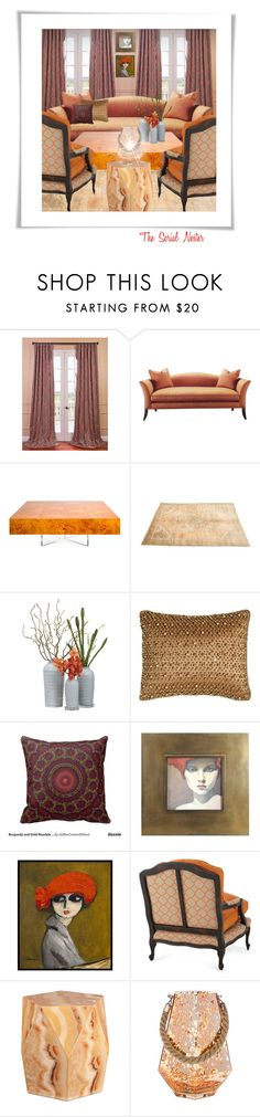 """""""Untitled #590"""" by theserialnester ❤ liked on Polyvore featuring interior, interiors, interior design, home, home decor, interior decorating, Jonathan Adler, Pyar & Co., 1000Museums and Old Hickory Tannery"""