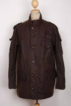 Black Friday Size 44 Barbour Jacket Drax Red
