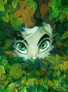 The secret of Kells by eighthSun on DeviantArt. Really great movie, check it out!